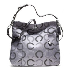 Coach Isabelle Madison Dotted Op Art GUC